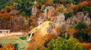 See The Tallest Waterfall In Oklahoma At Turner Falls Park
