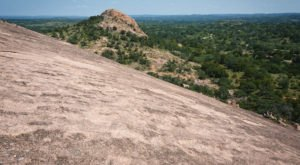 Texas' Enchanted Rock State Natural Area Has It All With Caves, Hiking, Rock Climbing, and Camping