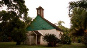 The Charming Palapala Ho'omau Church In Hawaii Is Home To None Other Than The Grave Of Charles Lindbergh