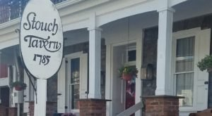 Sip Wine And Mingle With Ghosts At Stouch Tavern, A Famous Haunted Bar In Pennsylvania