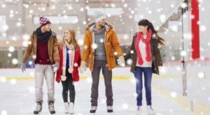 Enjoy One Of The Best Cold-Weather Activities At The Mississippi Coliseum's Seasonal Ice Skating Rink