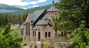 One Of The World's Most Beautiful Churches, Colorado's Saint Catherine of Siena Chapel, Is Loaded With History