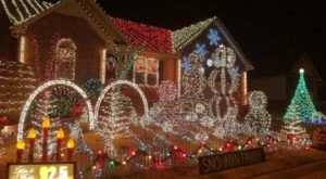 Plan A Visit Now To The Best Neighborhood Christmas Light Display In Nashville At Gill's Bright Lights