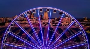 Ride A 200-Foot-Tall Ferris Wheel To Enjoy Sweeping Views Of The St. Louis Skyline In Missouri