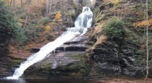 Dingmans Falls In Pennsylvania Will Soon Be Surrounded By Beautiful Fall Colors