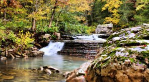 The Six Finger Falls In Arkansas Will Soon Be Surrounded By Beautiful Fall Colors