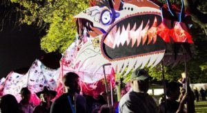 Enjoying Glowing Nighttime Fun At The Great Halloween Lantern Parade & Festival In Maryland