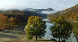 Visit Buckhorn Lake In Kentucky For A Beautiful View Of The Fall Colors