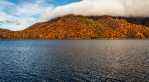 Visit Watauga Lake In Tennessee For An Absolutely Beautiful View Of The Fall Colors