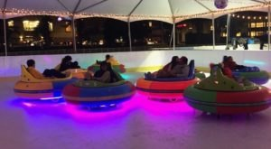 The One-Of-A-Kind Ice Bumper Cars In Northern California You Can Experience For Yourself