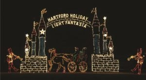 Plan A Visit Now To The Best Neighborhood Christmas Light Display In Connecticut At Holiday Light Fantasia