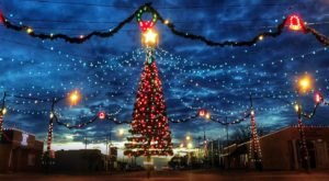 Plan A Visit Now To The Best Neighborhood Christmas Light Display In Kansas At Wakeeney