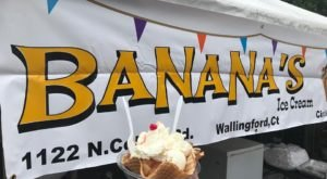 Stop By Banana's Ice Cream, A Charming Ice Cream Shop With Delicious Hard Scoop In Connecticut