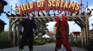 Embark On A Terrifying Evening At Field Of Screams In Pennsylvania