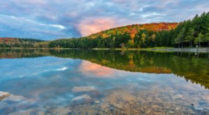 Visit Spruce Knob Lake In West Virginia For An Absolutely Beautiful View Of The Fall Colors