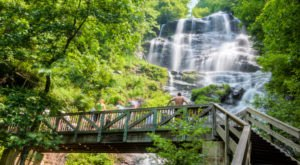 See The Tallest Waterfall In Georgia At Amicalola Falls State Park