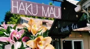 Learn How To Make Authentic Leis At Haku Maui In Hawaii