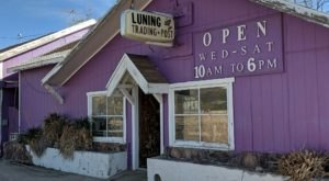 Plan A Trip To Luning Trading Post, A Ghost Town Antique Shop In Nevada With Spectacular Treasures