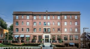 Enjoy Pizza And Rooftop Views From The Hotel Weyanoke, A Historic Bed & Breakfast In Virginia