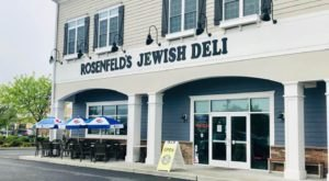 Your Tastebuds Will Love You For Trying The Overstuffed Reuben At Rosenfeld's Jewish Deli In Delaware