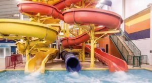 Enjoy A Day Out Of The Cold At Splashdown Dakota Super Slides, An Indoor Water Park In North Dakota