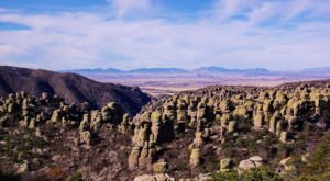 Walk Through 12,000 Acres Of Otherworldly Rock Formations At Arizona's Chiricahua National Monument