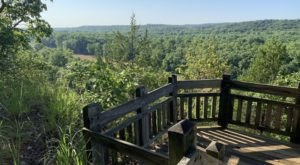 Hike This Stairway To Nowhere In Missouri For A Magical Woodland Adventure