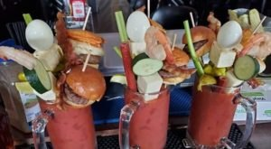 The Massive Bloody Marys At Kuchie's On The Water In Illinois Are True Works Of Art