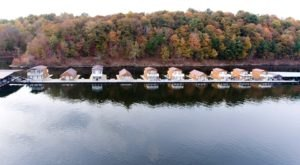 Watch The Leaves Change Color From The Deck Of Your Own Floating Home At Green River Marina In Kentucky