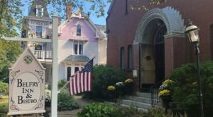 Dine Inside A Charming Church At Belfry Inn & Bistro In Massachusetts