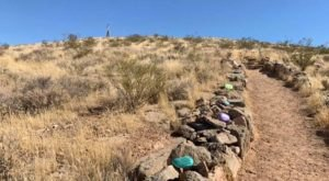 Hikers Leave Uplifting Messages On Painted Rocks Along Aspiration Trail In Utah