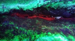 Take A Black Light Mine Tour At Emerald Village To See Black Light Minerals Underground In North Carolina