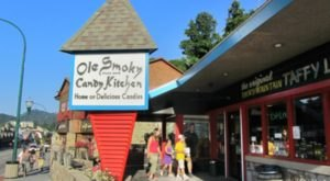 One Of Tennessee's Oldest Candy Shops, Ole Smoky Candy Kitchen, Has Been Around Since 1950 And It's Not Hard To See Why