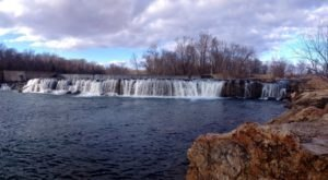 You Can Practically Drive Right Up To The Beautiful Grand Falls In Missouri