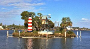 There Is A Mini Monkey Alcatraz Known As Monkey Island In Homosassa, Florida