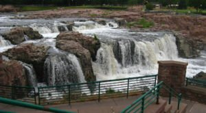 You Can Practically Drive Right Up To The Beautiful Sioux Falls In South Dakota