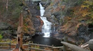See The Tallest Waterfall In Pennsylvania At Delaware Gap National Recreation Area