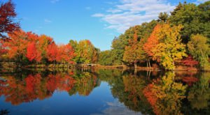 Visit The Lakes At Roger Williams Park In Rhode Island For Beautiful Views Of The Fall Colors