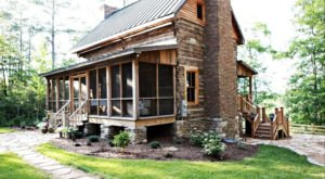 Book A Stay At This Pre-Civil War Log Cabin In Alabama For A Remarkable Fall Getaway