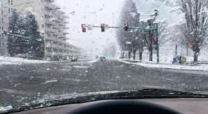 A Storm Has Brought Snow And Record Low Temperatures To Idaho
