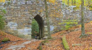 Walk Across The Poinsett Bridge For A Gorgeous View Of South Carolina's Fall Colors
