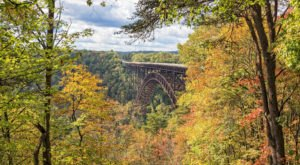 Walk Across The New River Gorge Bridge For A Gorgeous View Of West Virginia's Fall Colors
