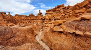 Walk Through 9,915 Acres Of Rock Formations At Utah's Goblin Valley State Park