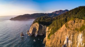 Some Of Oregon's Most-Photographed Scenery Is Found In The Beautiful Town Of Manzanita