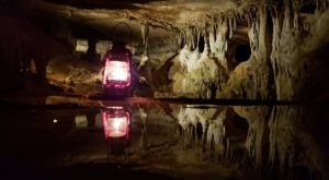 The Lantern-Lit Cave Tour In Tennessee Is A Unique Way To Experience Raccoon Mountain Caverns