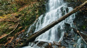 See The Tallest Waterfall In Connecticut At Roaring Brook Park