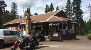Next Time You're In Northern Minnesota, Stop Into Our Place, A Charming Log Cabin Restaurant