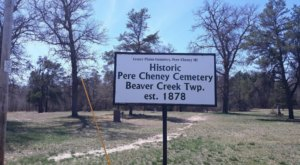 The Pere Cheney Cemetery Is One Of Michigan's Spookiest Cemeteries