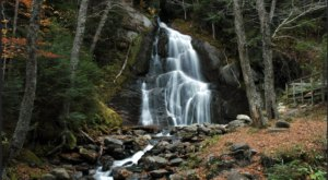 You Can Practically Drive Right Up To The Beautiful Moss Glen Falls In Vermont