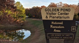 Golden Pond Is A Kentucky Ghost Town That's Perfect For An Autumn Day Trip
